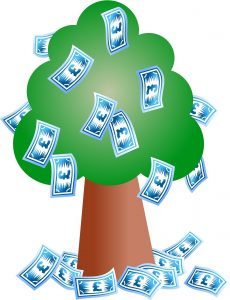 money tree cartoon