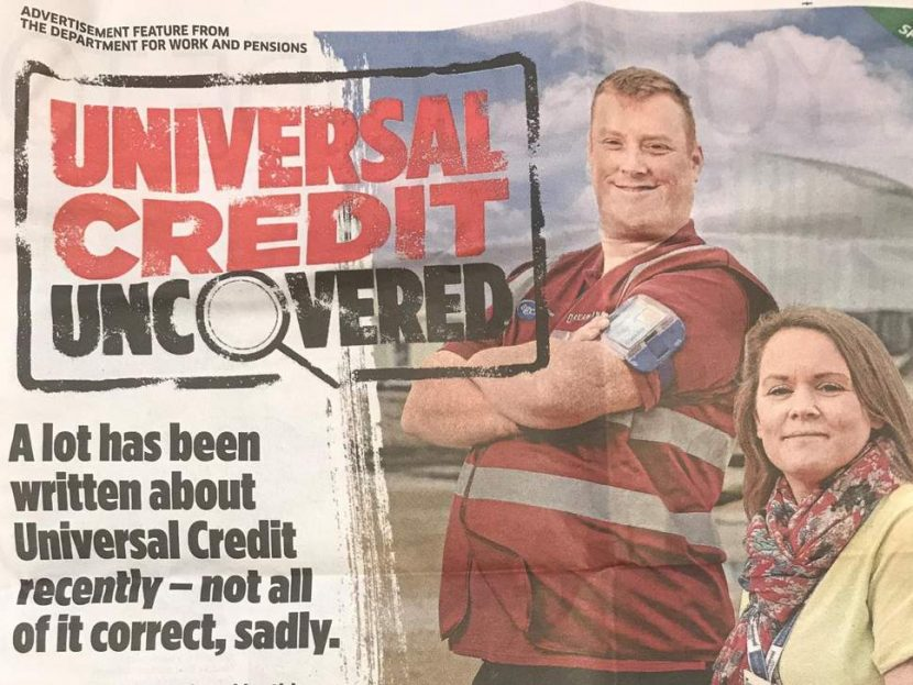 universal credit uncovered