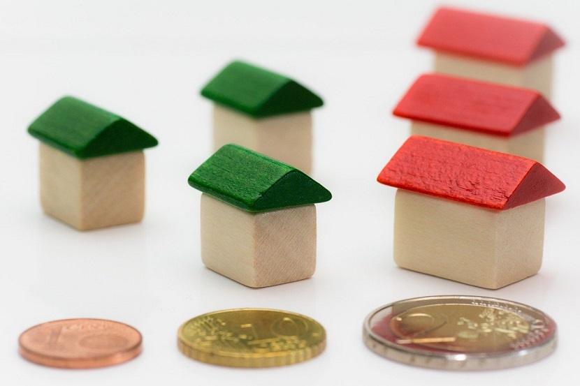 money and houses